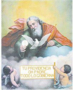 TU PROVIDENCIA OH PADRE TODO LO GOBIERNA.