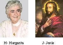 Margarita la Almas Pequeña y su Jesús